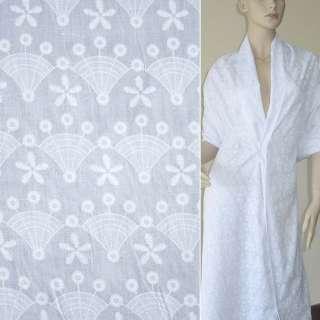 Батист белый одуванчик деворе ш.150 оптом