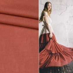 Батист коричнево-красный ш.145