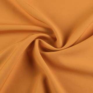 Креп костюмный бистрейч горчично-желтый ш.150 оптом