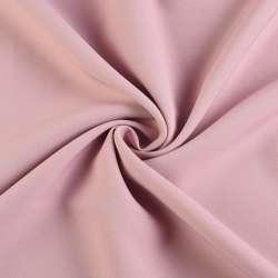 Креп костюмный бистрейч фрез (розово-серый) ш.150 оптом