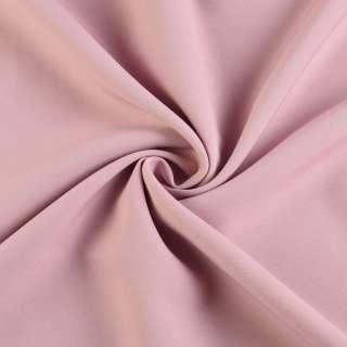 Креп костюмний бістрейч фрез (рожево-сірий) ш.150 оптом