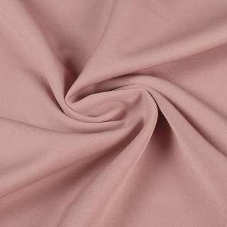 Креп костюмный бистрейч фрезовый темный ш.150 оптом