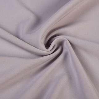 Креп костюмный бистрейч серо-сиреневый ш.150 оптом