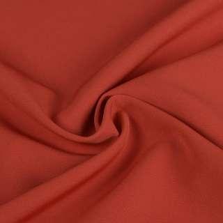 Креп костюмный бистрейч терракотовый ш.150 оптом