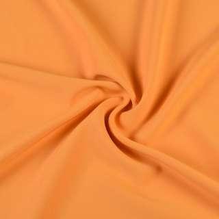 Креп костюмный бистрейч желтый с оранжевым оттенком ш.150 оптом