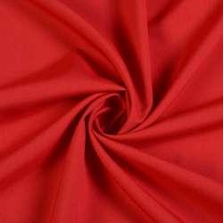 Ткань костюмная бистрейч облегченая темно-красная ш.150