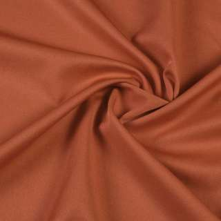 ткань кост. бистрейч. ржаво-коричневая ш.150 оптом