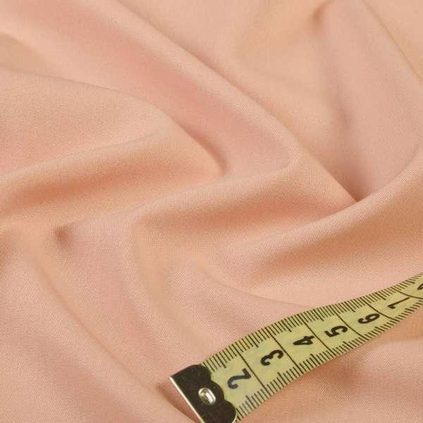 Ткань костюмная бистрейч персиковая ш.150 оптом