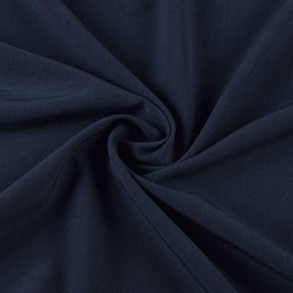 Бистрейч плательный синий темный, ш.155 оптом