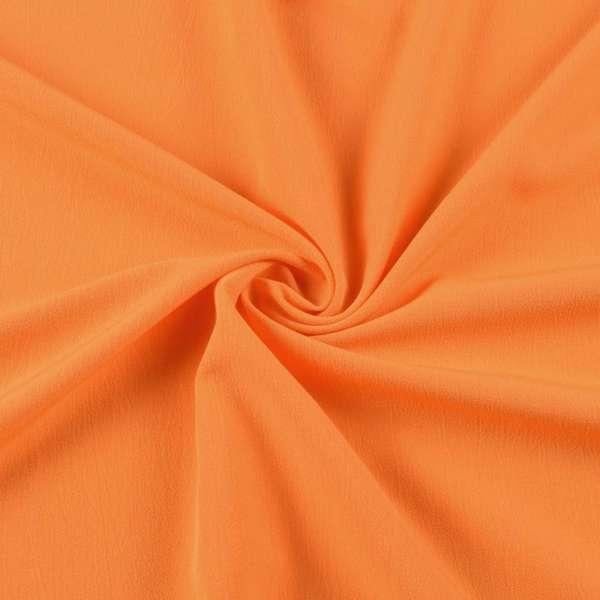 Бистрейч плательный оранжевый, ш.153 оптом