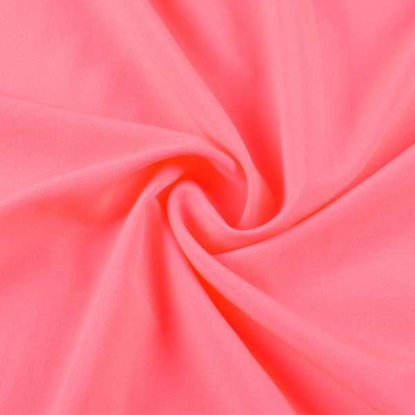 Бистрейч плательный розовый неон, ш.150 оптом
