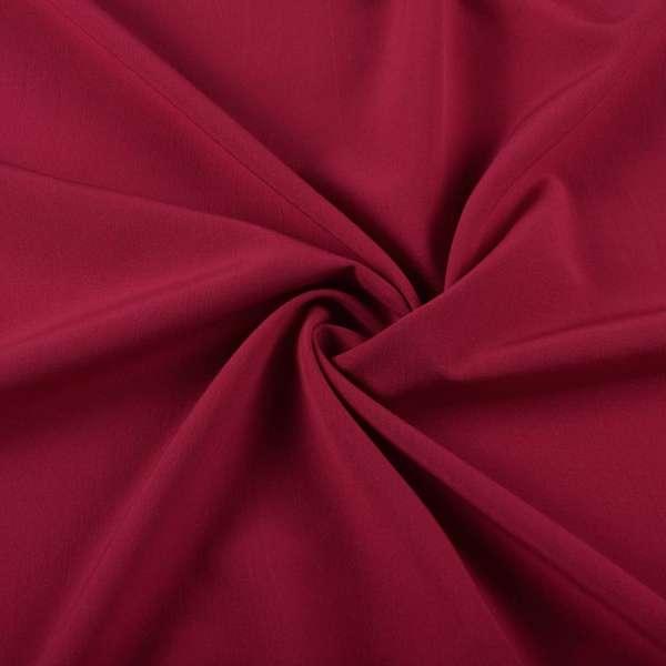Бистрейч плательный красный винный, ш.152 оптом