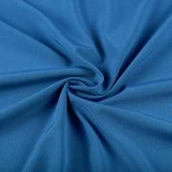 Бистрейч плательный синий светлый, ш.150 оптом