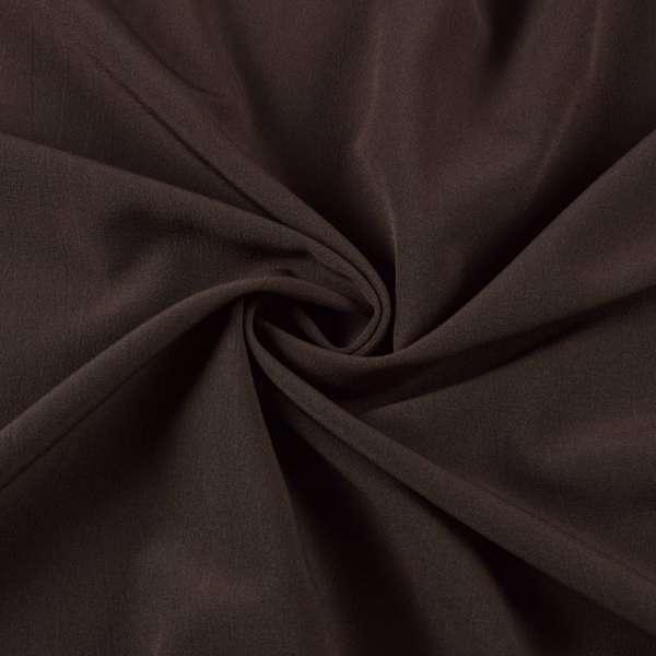 Бистрейч плательный коричневый темный, ш.150 оптом