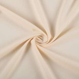Биэластик креп молочно бежевый ш.150 оптом