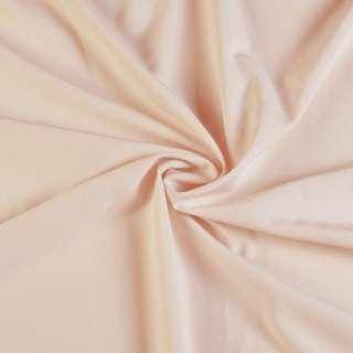 Биэластик гладкий бледно персиковый ш.150 оптом