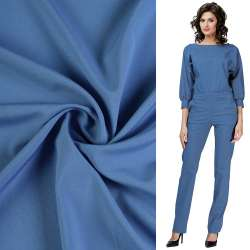 Биэластик гладкий сине-голубой ш.150