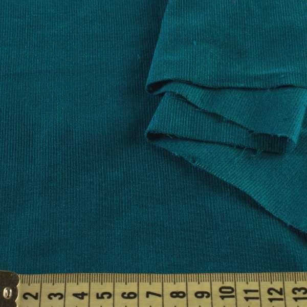 Микровельвет бирюзовый темный не стрейч, ш.145 оптом