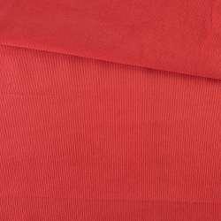 Микровельвет красный гренадин не стрейч, ш.145