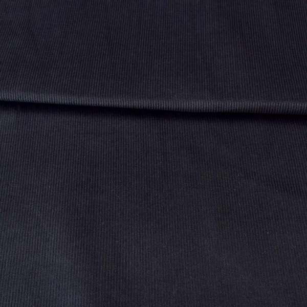 Микровельвет стрейч синий темный, ш.147 оптом