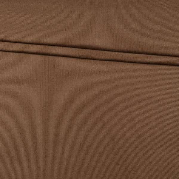 Микровельвет стрейч молочно-коричневый ш.150 оптом