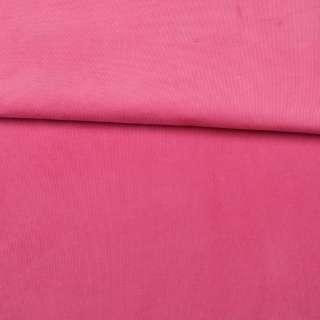 Микровельвет стрейч розовый яркий ш.145 оптом