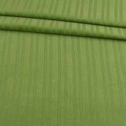 Микровельвет стрейч светло-салатовый в полоску, ш.140