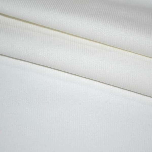 Вельвет стрейч белый, ш.150 оптом