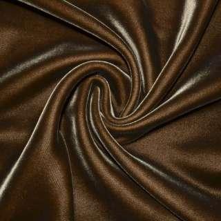 Бархат шелковый коричневый темный, ш.115 оптом