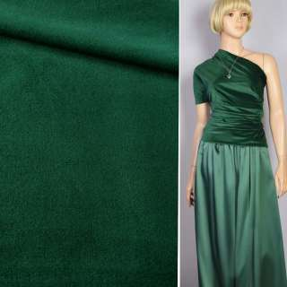 Велюр костюмный зеленый темный ш.150 оптом