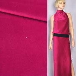 Велюр костюмный малиновый яркий ш.150 оптом