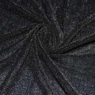 Стрейч велюр черный ш.150 оптом