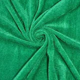 Велюр зеленый ш.150 оптом