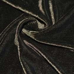 Велюр стрейч коричневый ш.160