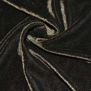 Стрейч велюр коричневый ш.160 оптом
