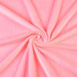 Велюр стрейч рожевий яскравий ш.165 оптом