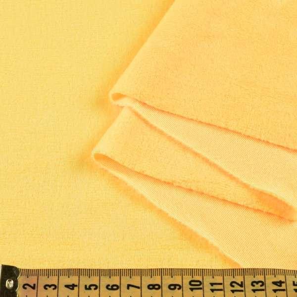 Велюр стрейч желтый ш.170 оптом