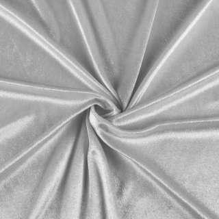 Велюр стрейч серый, ш.170 оптом
