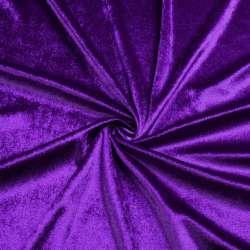 Велюр стрейч фиолетовый, ш.170 оптом