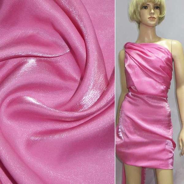 Кристаллон с органзой розовый ш.150 оптом