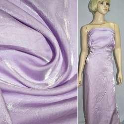 Кристаллон с органзой светло-фиолетовый ш.150