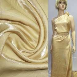 Кристаллон с органзой желтый ш.150