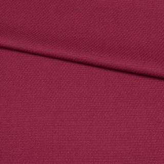 Ткань костюмная бордовая, ш.140 оптом