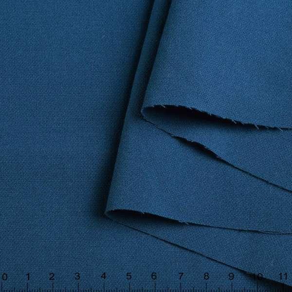 Вискоза стрейч синяя ш.150 оптом