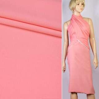 Креп рожево-персиковий ш.155 оптом