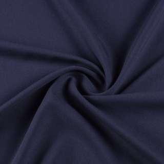 Креп стрейч синий темный, ш.155 оптом