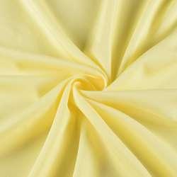 Креп стрейч желтый светлый, ш.155