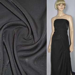 кристаллон блуз. черный с диагон.переплетением оптом