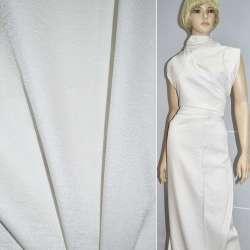 Вискоза с органзой костюмная белая, ш.150