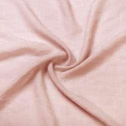 Вискоза жатая розово персиковая ш.150 оптом
